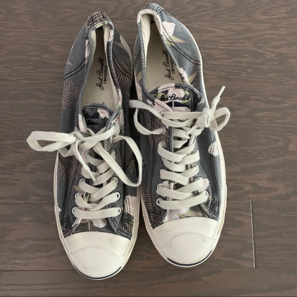 Converse Other - Jack Purcell floral sneakers men's size 11.5